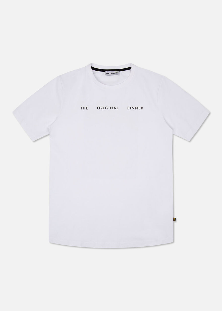 The Sinner Tee, White, hi-res