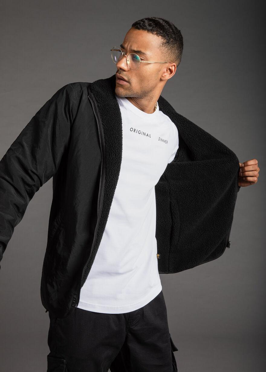 The Caregiver Reversible jacket, Black, hi-res