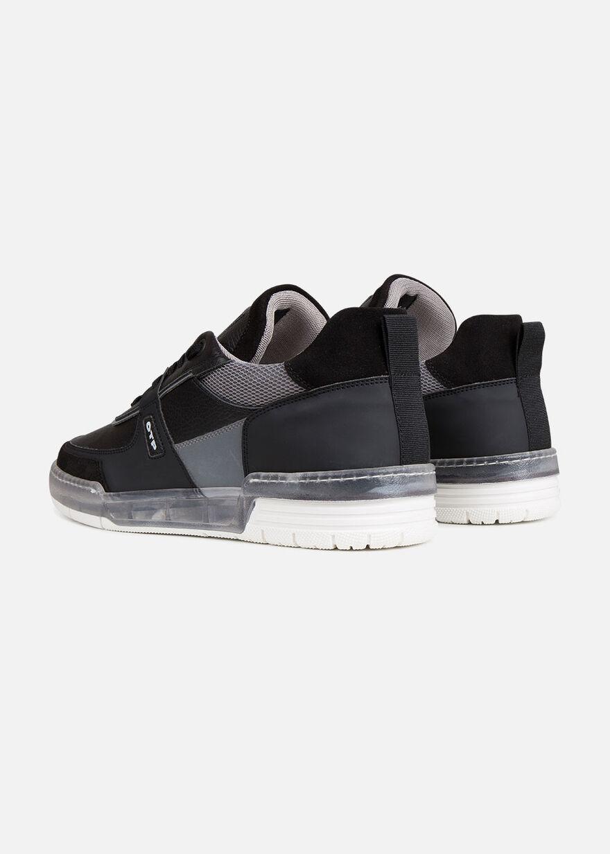 Baskette - Black - Leather, Black, hi-res