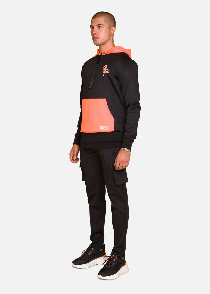 Basic Bright Tracksuit, Black, hi-res