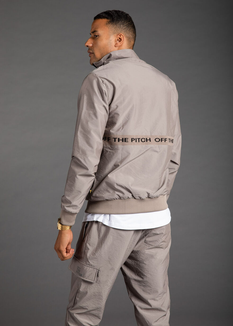 The Hero Halfzip, Brown, hi-res