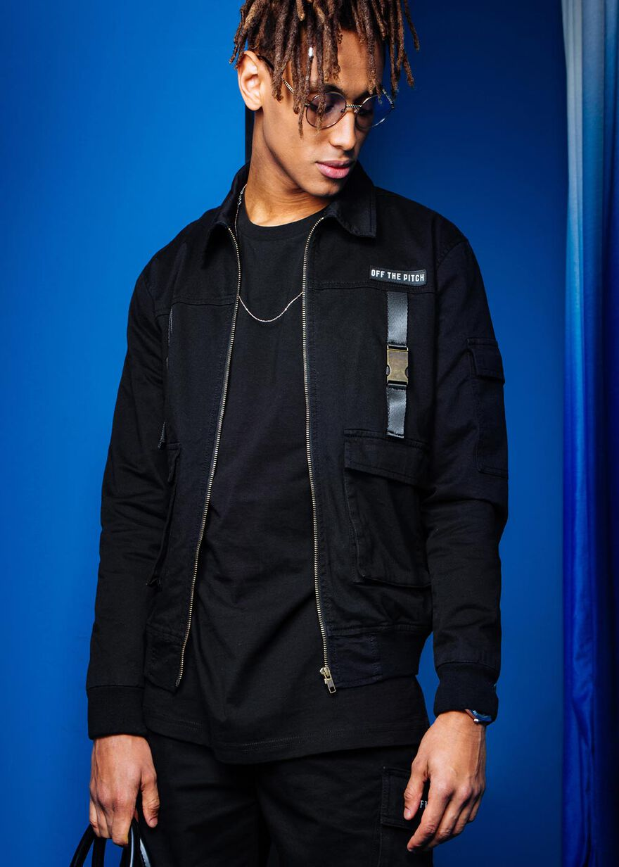 The Cargo Cult Jacket, Black, hi-res