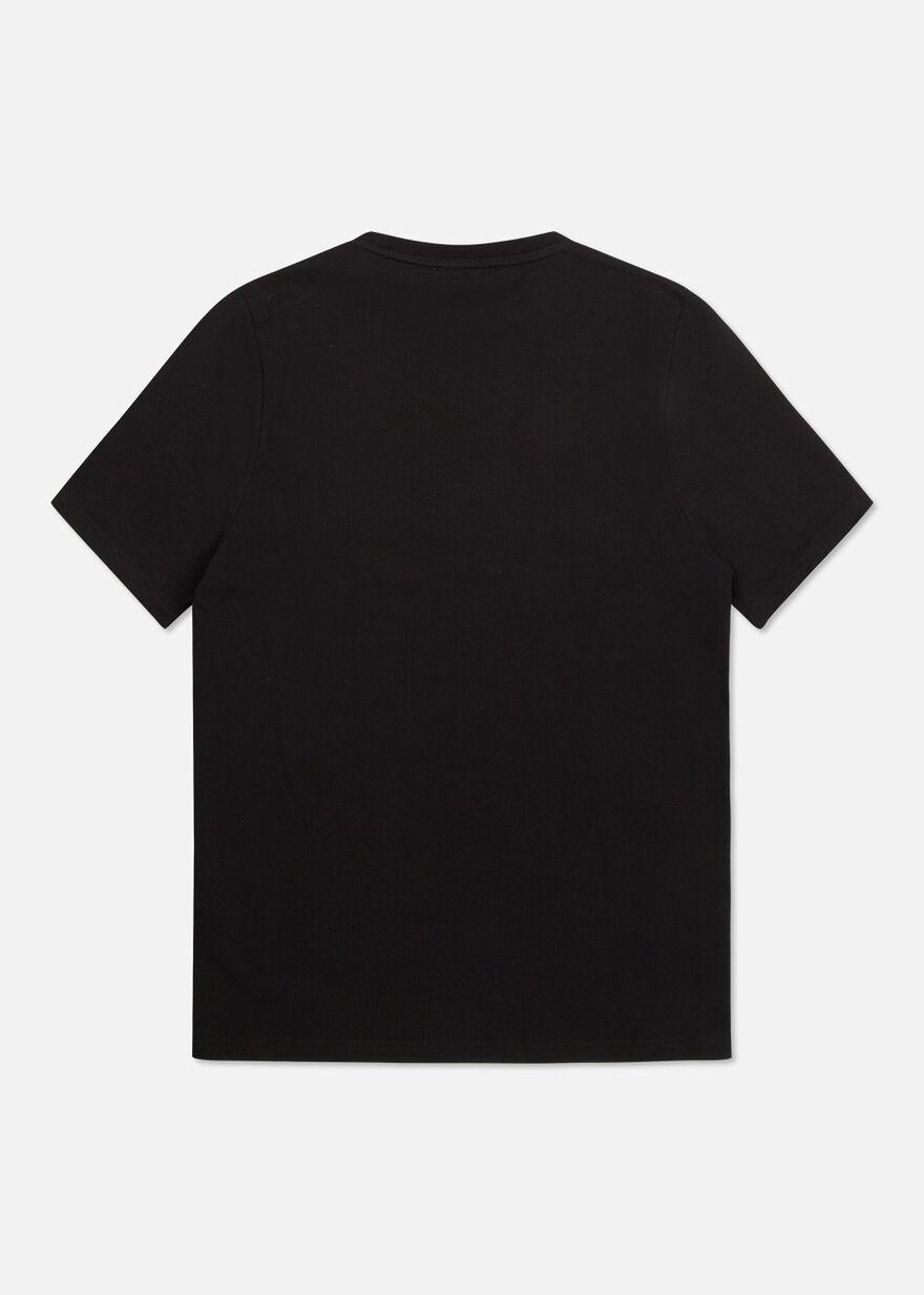 The Nova Regular tee- Black- 100% Cotton, Black, hi-res