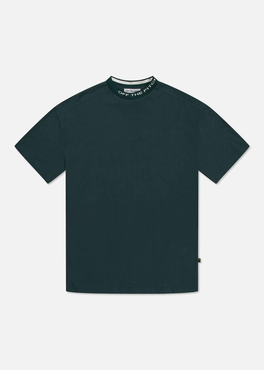 The Orphan Tee - Dark green- 100% Cotton, Dark green, hi-res