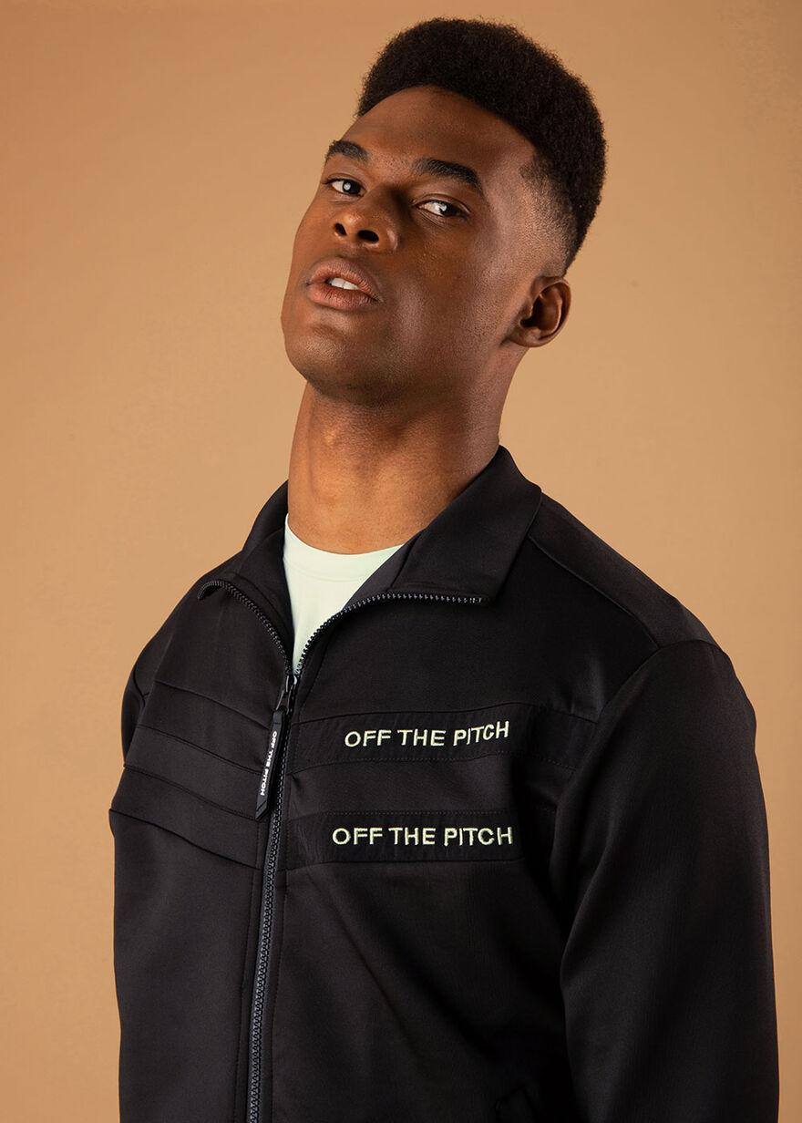 The Mercury Jacket - Black - 92% Polyester 8% Elas, Black, hi-res