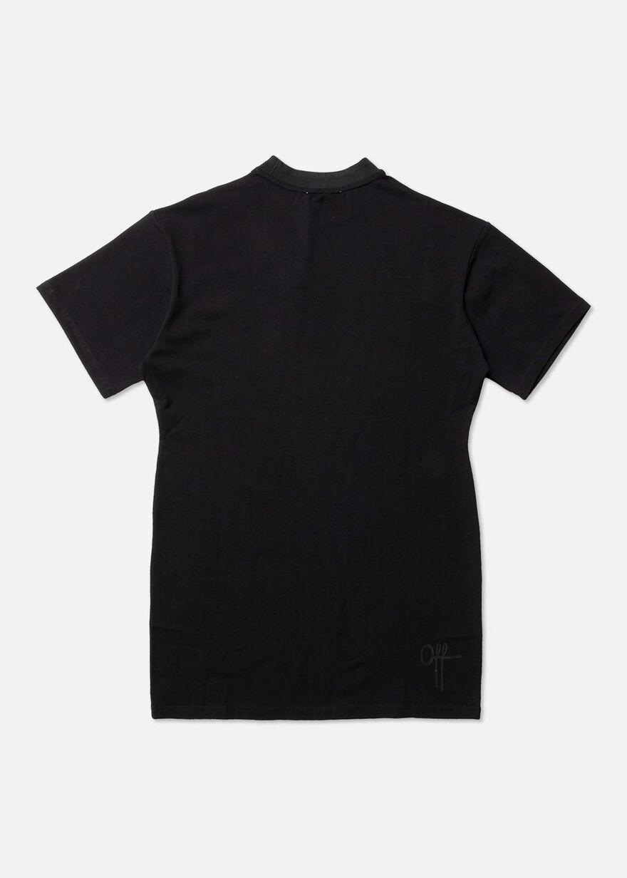 OTP BL T-shirt Dress, Black, hi-res