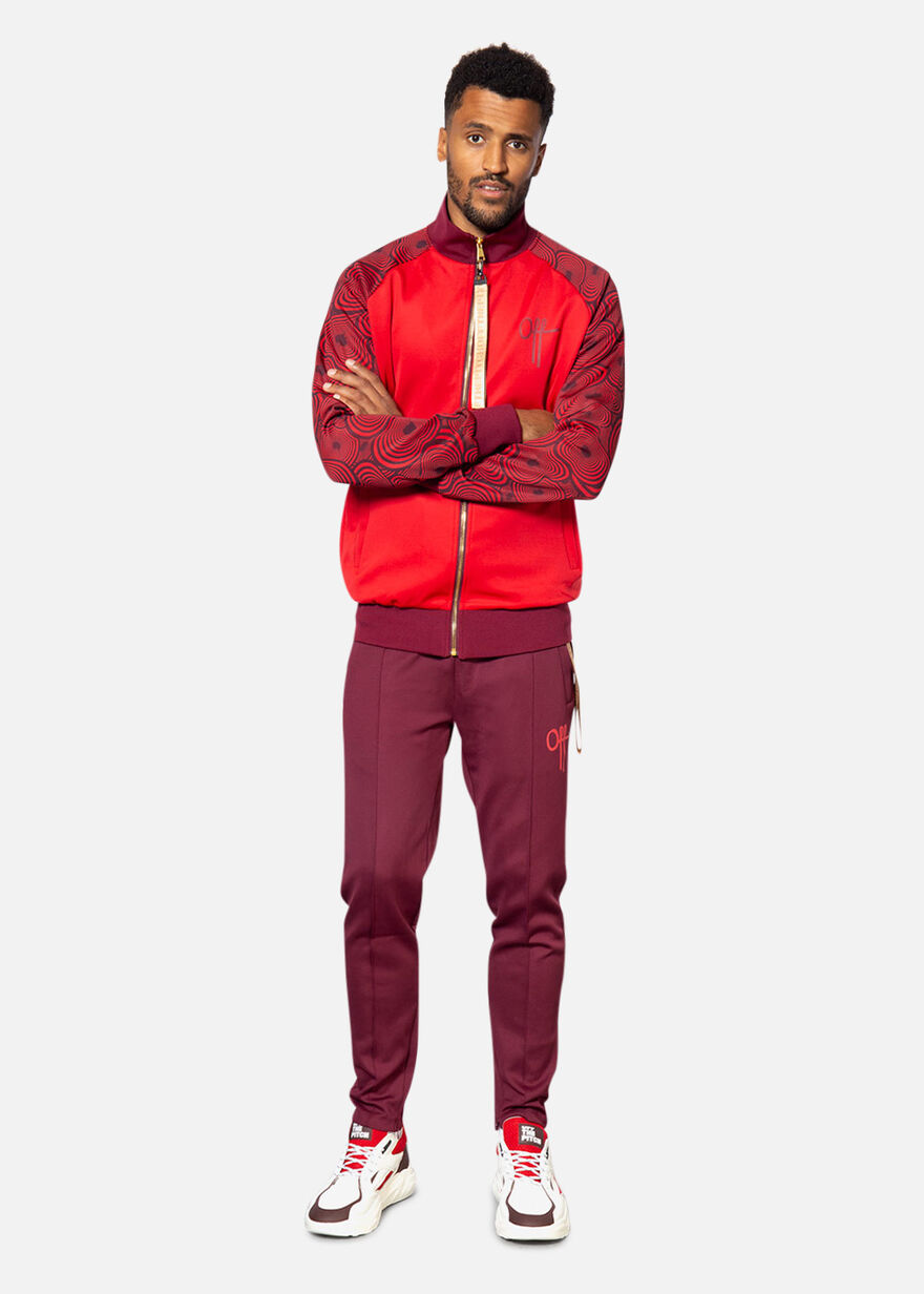 Bound Tracksuit, Red, hi-res