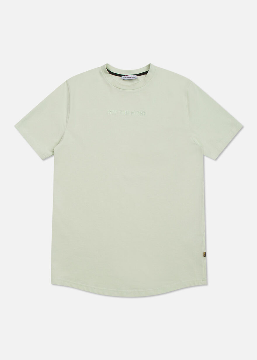 The Homeworld Slimfit Tee - Mint - 95% Cotton 5% E, Green, hi-res