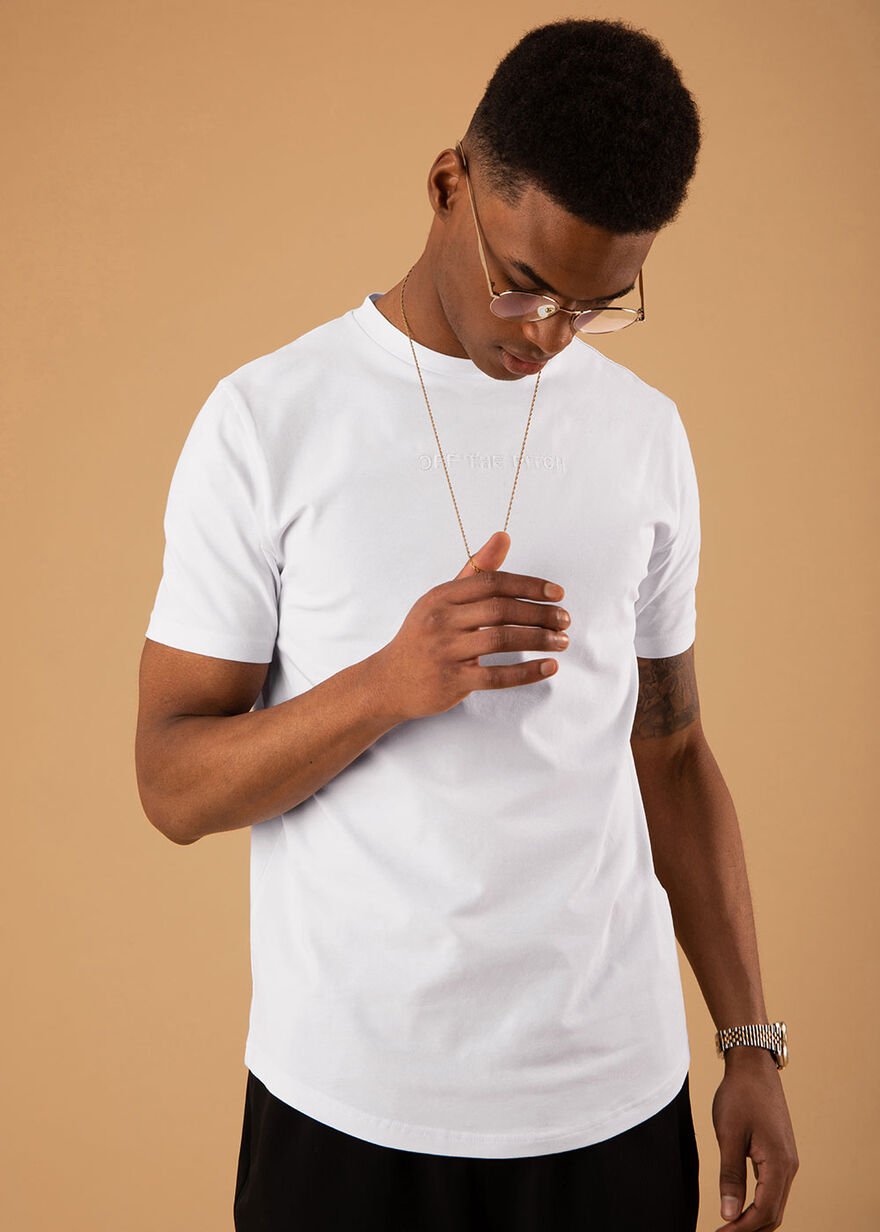 The Illuminated 2.0 Slimfit Tee - Mint - 95% Cotto, White, hi-res