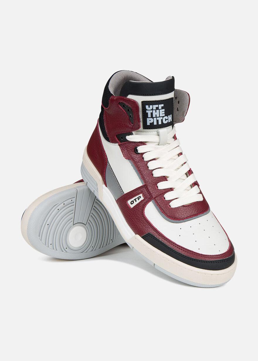 Basketta Hi, Red/White, hi-res