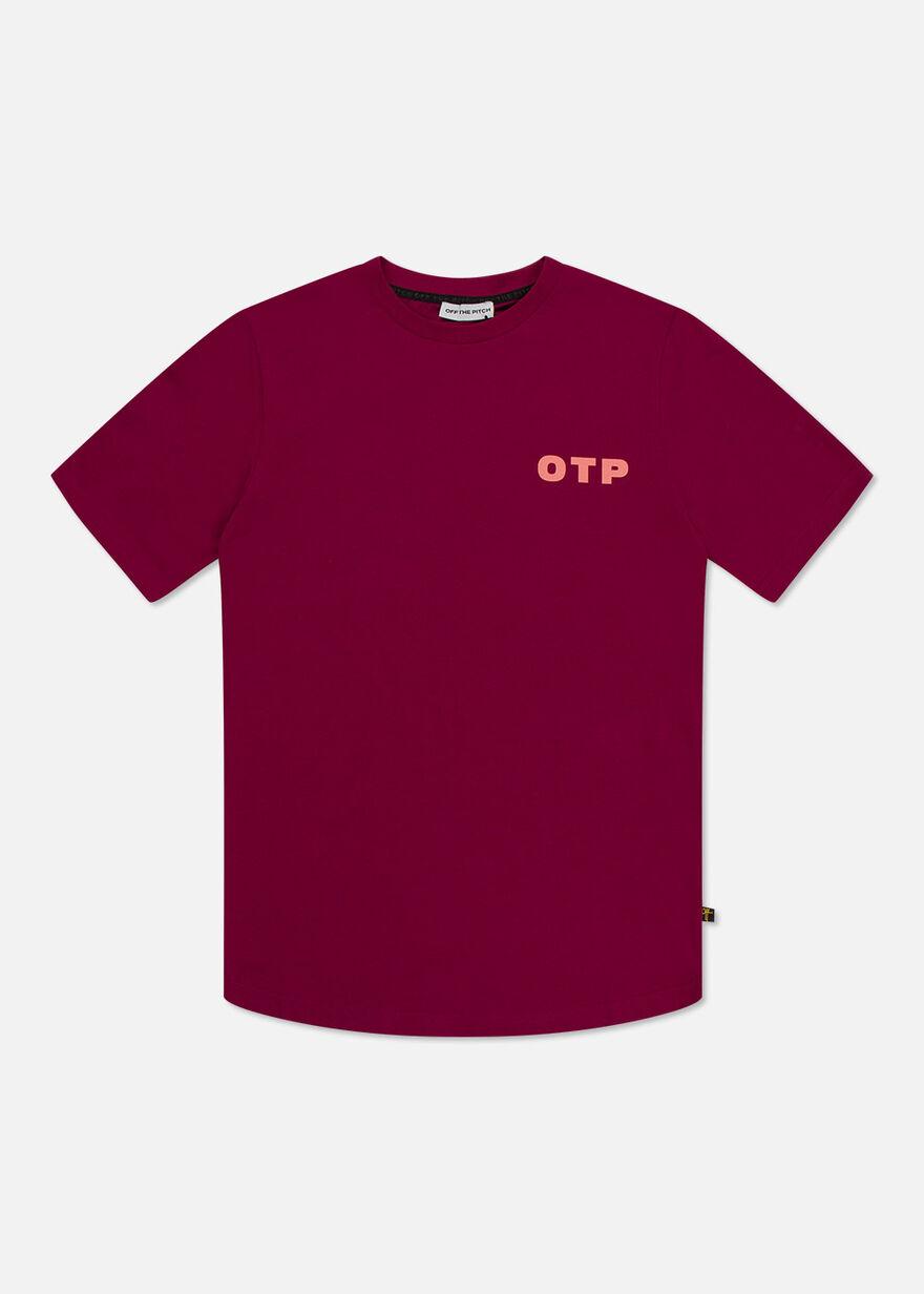 Outline Off - Dark green- 95% Cotton / 5% Elastane, Dark red, hi-res