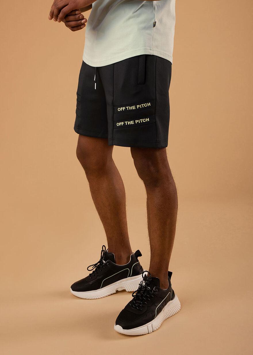 The Mercury Short - Black - 92% Polyester 8% Elast, Black, hi-res