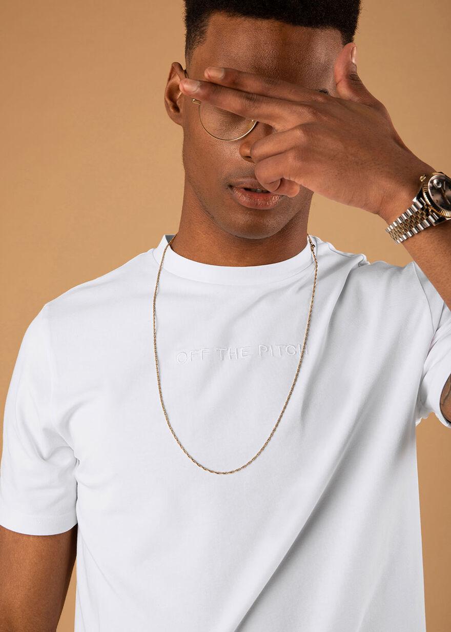 The Homeworld Slimfit Tee - Mint - 95% Cotton 5% E, White, hi-res