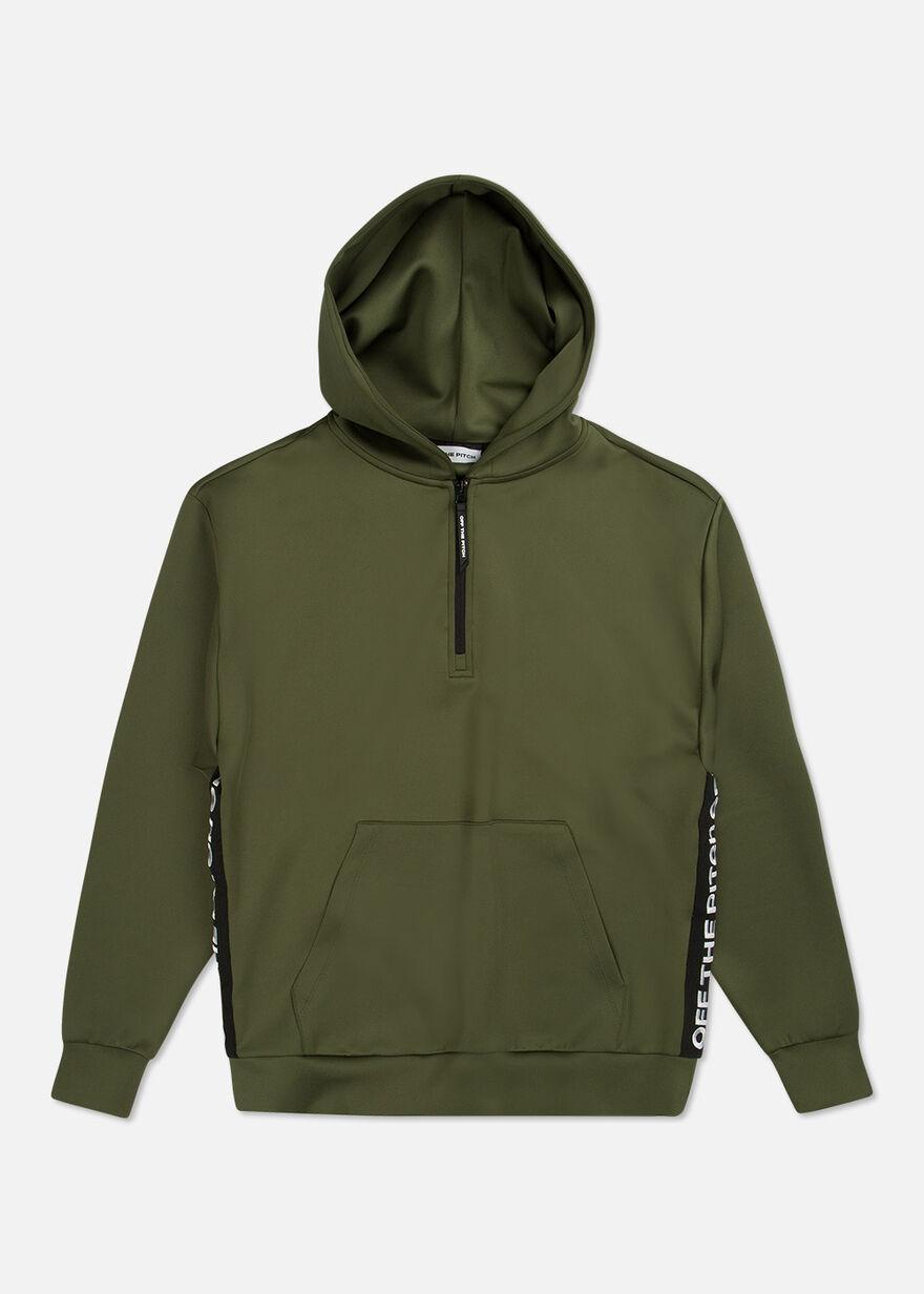 The Soul Halfzip Hood, Green/Miscellaneous, hi-res