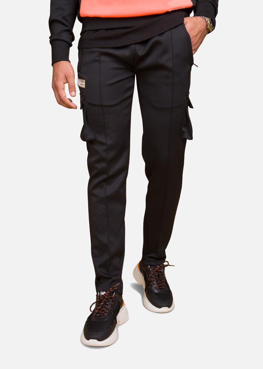 Basic Bright Trackpants, Black/Miscellaneous, hi-res