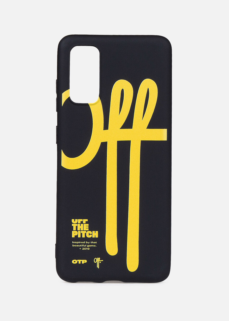 Galaxy S20 Case, Black/Yellow, hi-res