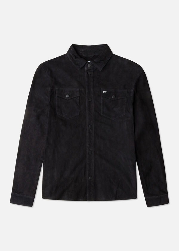 The Suede Overshirt