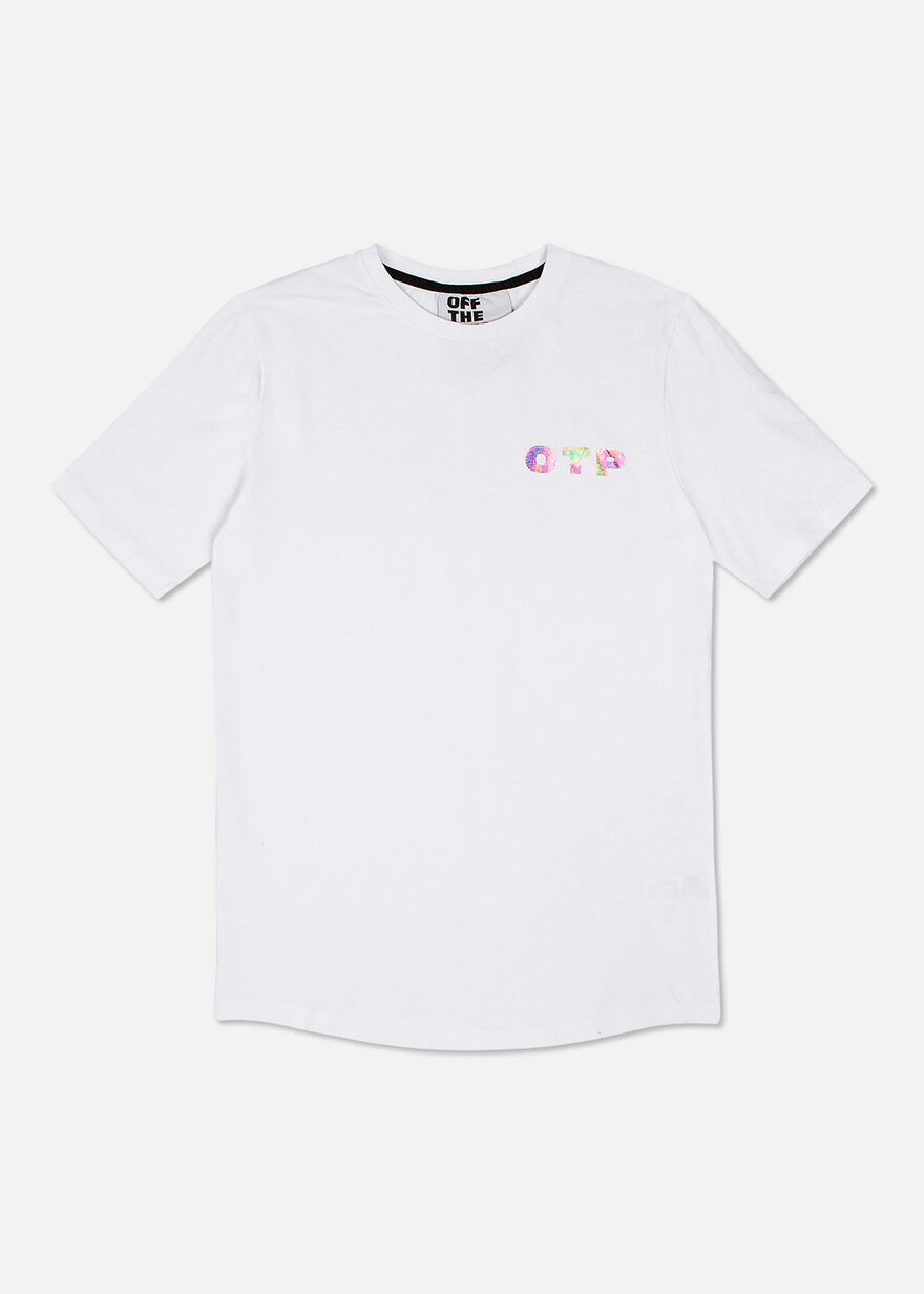 Illuminated Tee, White, hi-res