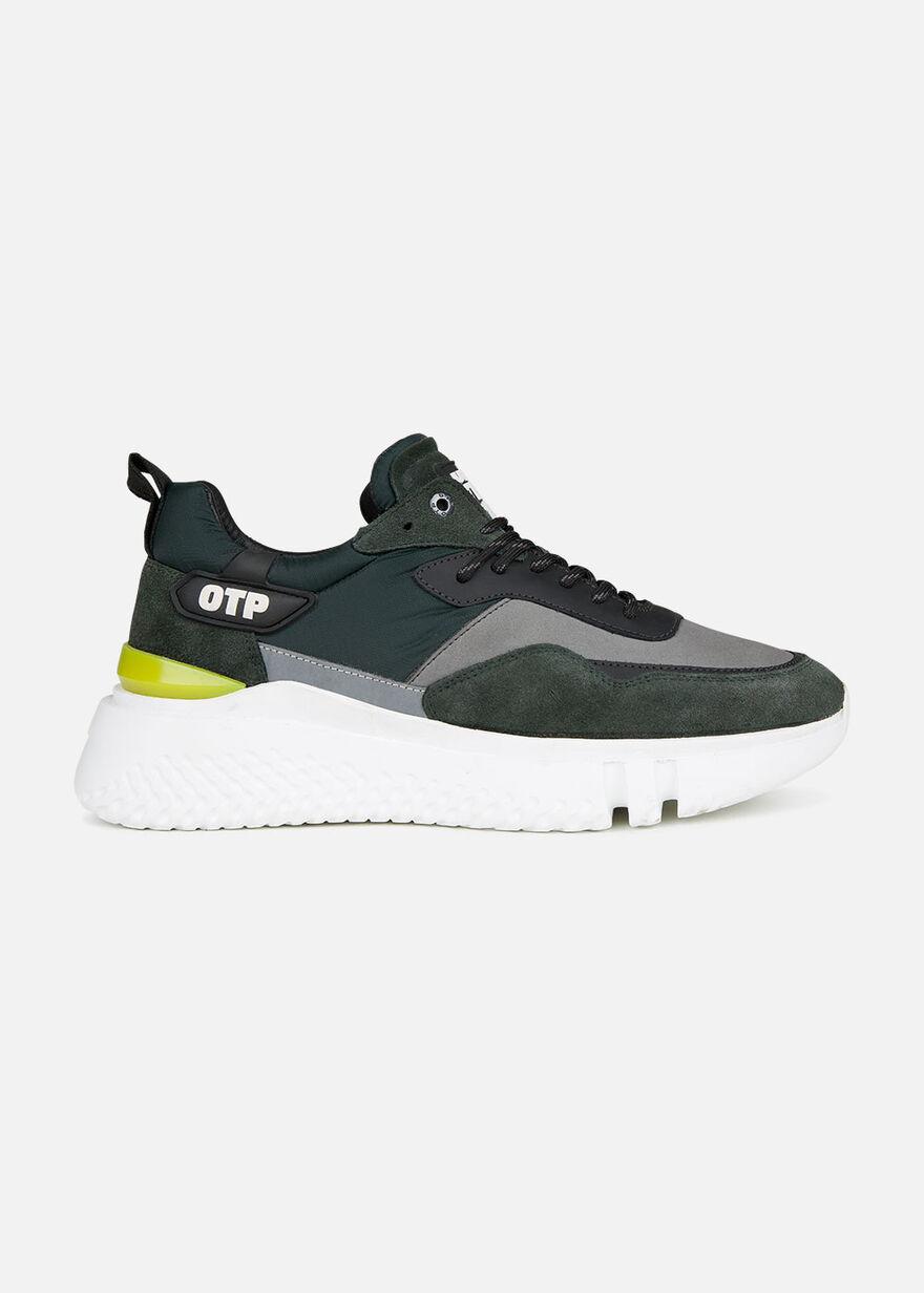 Crunch Runner, Green/Grey, hi-res