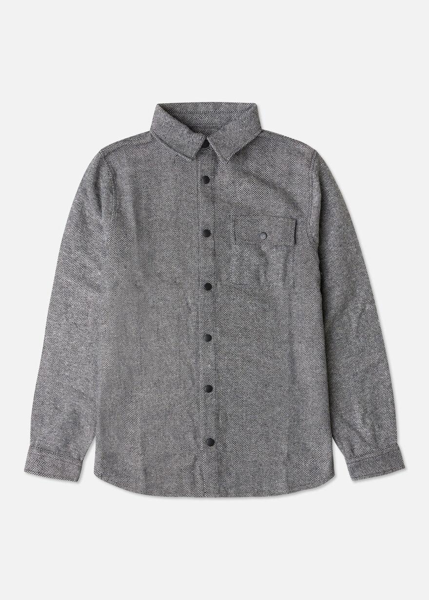 The Defender 1.0 Overshirt, Black/Grey, hi-res