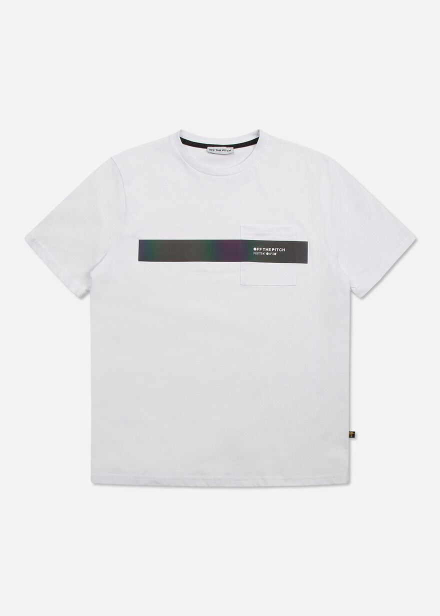The Nova Regular tee- Black- 100% Cotton, White, hi-res