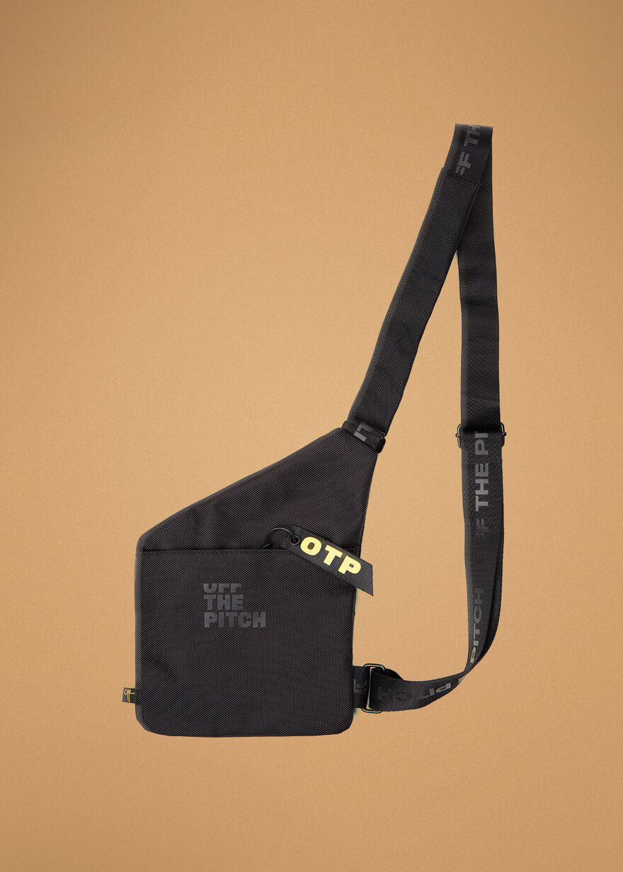 The Ruler Sling bag, Black, hi-res