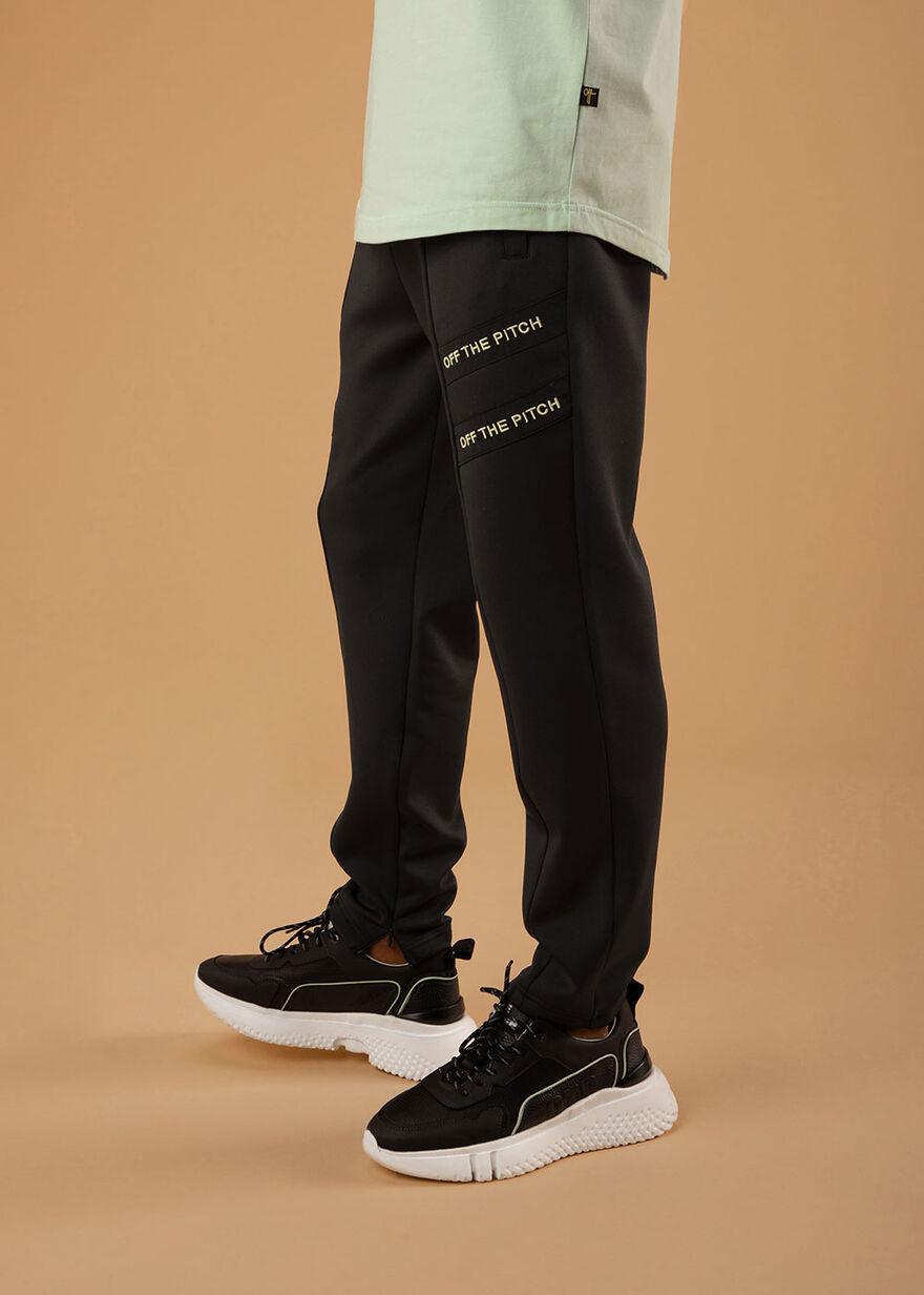 The Mercury Pants - Black - 92% Polyester 8% Elast, Black, hi-res