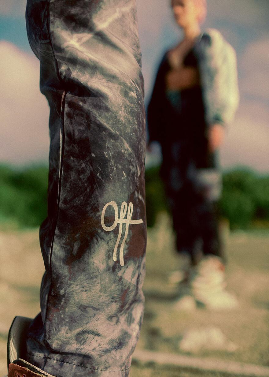 OTP Marble Cargo Pant, Black, hi-res