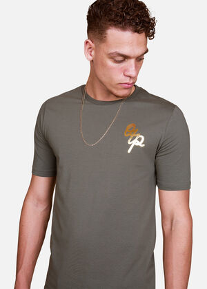 Gold Brush tee