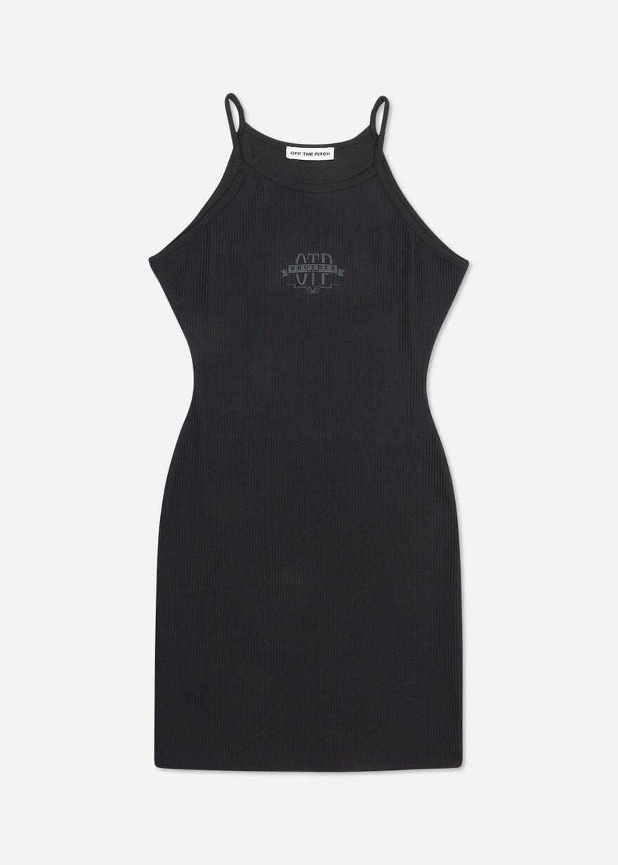 OTP BL Shoulderless Dress, Black, hi-res