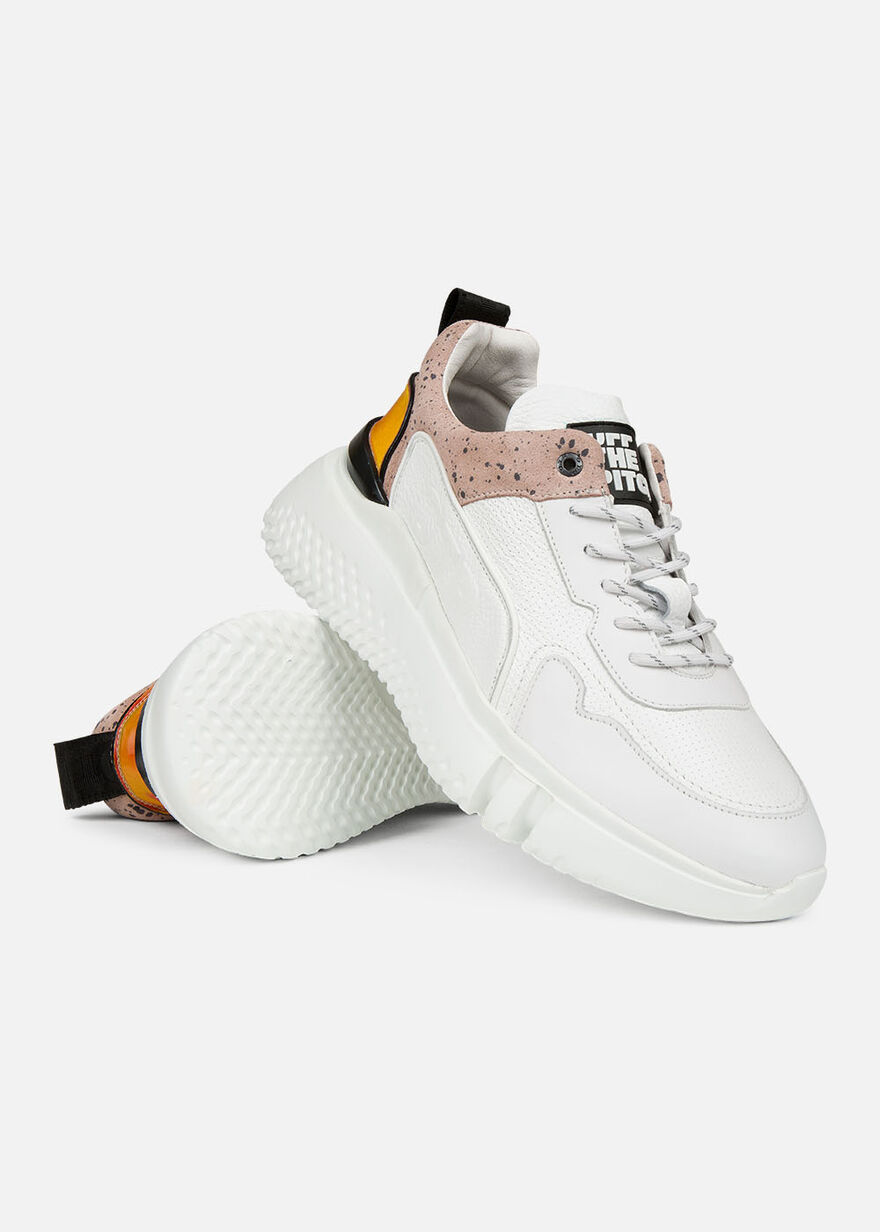Treble Runner - White - Leather, White, hi-res