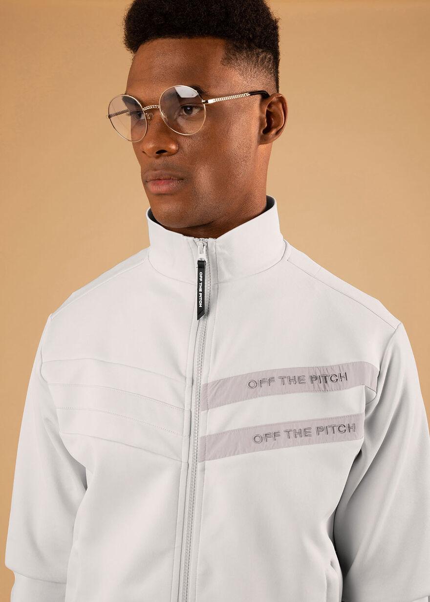 The Mercury Jacket - Black - 92% Polyester 8% Elas, Light Grey, hi-res