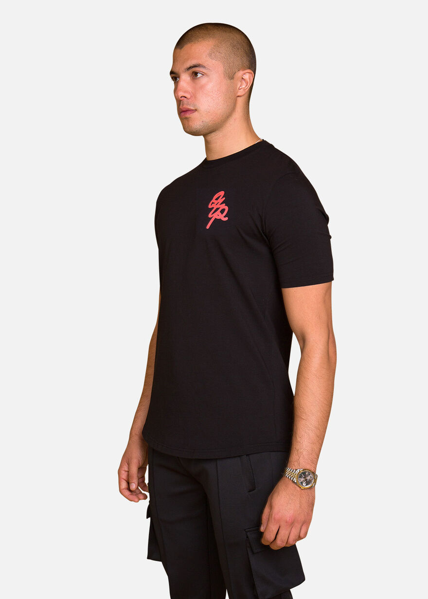 Bright Brush Tee, Black, hi-res