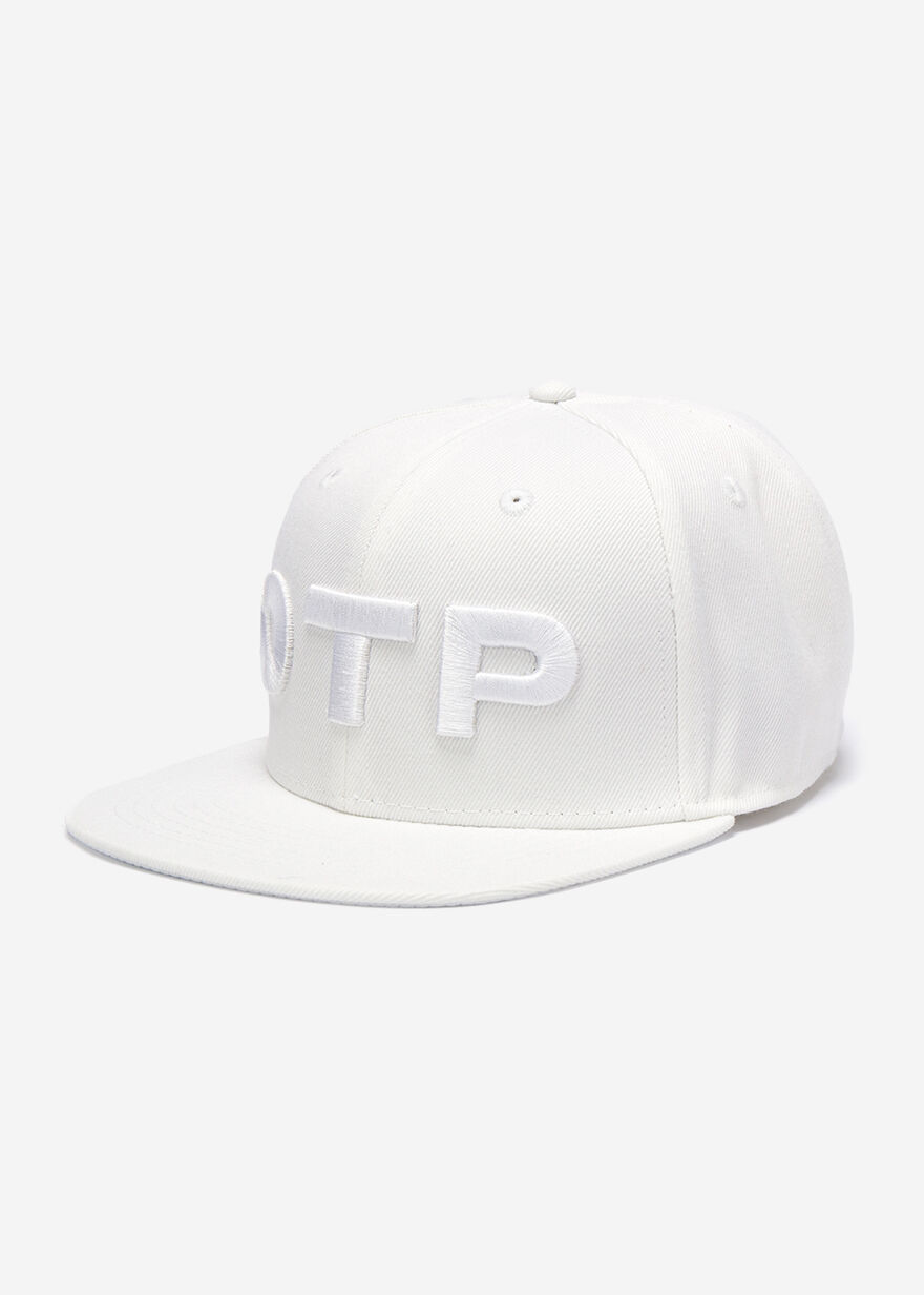 Brand Snapback, White, hi-res